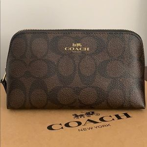 NWT Coach cosmetic pouch